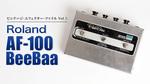とにかく歪む! 抜群の人気を誇った70年代のジャパニーズ・ファズ/ブースター Roland / AF-100 BeeBaa