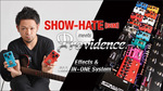 SHOW-HATE[SiM]がプロビデンス 最新エフェクト・ペダルと噂のALL-IN-ONE Systemをチェック! Providence Effects/Programmable Controller
