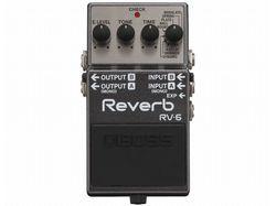 【BOSS】リバーブ・ペダルの新定番! 8種のモードを搭載した「RV-6」