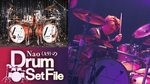 Nao(A9)のDrum Set File