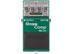 【BOSS/BC-1X】ベース用マルチバンド・コンプレッサーがXシリーズで登場!