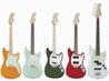 【Fender】超キュートなスチューデント・モデル5機種がリニューアル! Fender/Duo-Sonic、Duo-Sonic HS、Mustang、Mustang 90