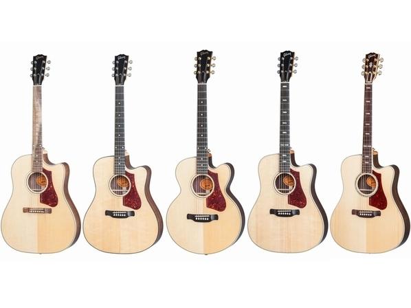 """【Gibson Acoustic】""""次世代のギブソン・サウンド""""を放つ、新たなハイ・パフォーマンス・ライン!"""