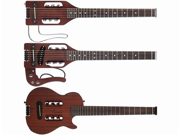 【Traveler Guitar】渋い新色をまとった定番シリーズとエレアコ風ニュー・モデルが登場!