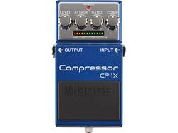 【BOSS/CP-1X Compressor】Xシリーズ最新作は新感覚のギター用マルチバンド・コンプレッサー!