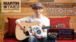 斎藤誠がマーティン弦を徹底検証! SP Acoustic & SP Lifespan Martin / SP Acoustic、SP Lifespan