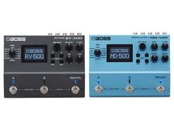 【BOSS/RV-500、MD-500】待望のニュー・モデル、ハイエンド・リバーブ&モジュレーションがついに登場!
