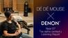 DÉ DÉ MOUSEが自身のニューEPをDENONオーディオ・ルームでチェック! DENON / オーディオ・リスニング・システム