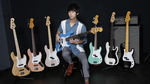 露崎義邦(パスピエ)meets Fender Made in Japan BASS Fender / Made in Japan Traditional, Hybrid Bass