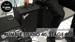 Fender/Rumble Studio 40 / Stage 800