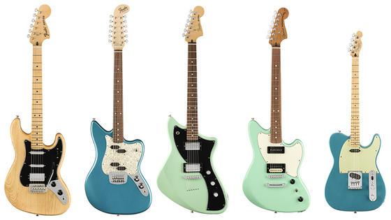 【Fender/Alternate Reality】機能美と未来的なスペックをフィーチャーした個性派コレクション!