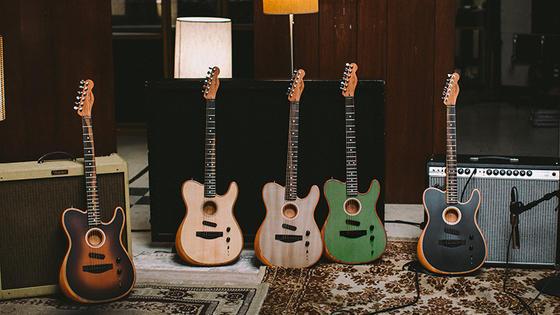 【Fender/American Acoustasonic Telecaster】テレキャスター・シェイプの次世代ギター