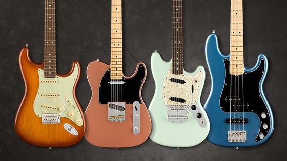 【Fender/American Performer Series】USA製ならではの伝統とモダン・スペックが融合!