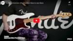 Fender / American Ultra Precision Bass & Jazz Bass