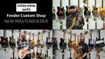 【Fender/NAMM2020】フェンダーカスタムショップの新マスタービルダーたちへインタビュー! Fender Custom Shop / NAMM Show 2020 New Model