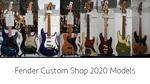 Fender Custom Shop / NAMM Show 2020 New Model
