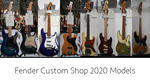 【Fender/NAMM2020】Fender Custom Shop Products News Fender Custom Shop / NAMM Show 2020 New Model