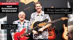 【Fender/NAMM2020】American Acoustasonic Stratocasterの開発秘話 Fender / American Acoustasonic Stratocaster