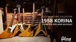 【Gibson Custom Shop/1958 KORINA】フライングVとエクスプローラーが復刻 Gibson Custom Shop/1958 KORINA Flying V & Explorer