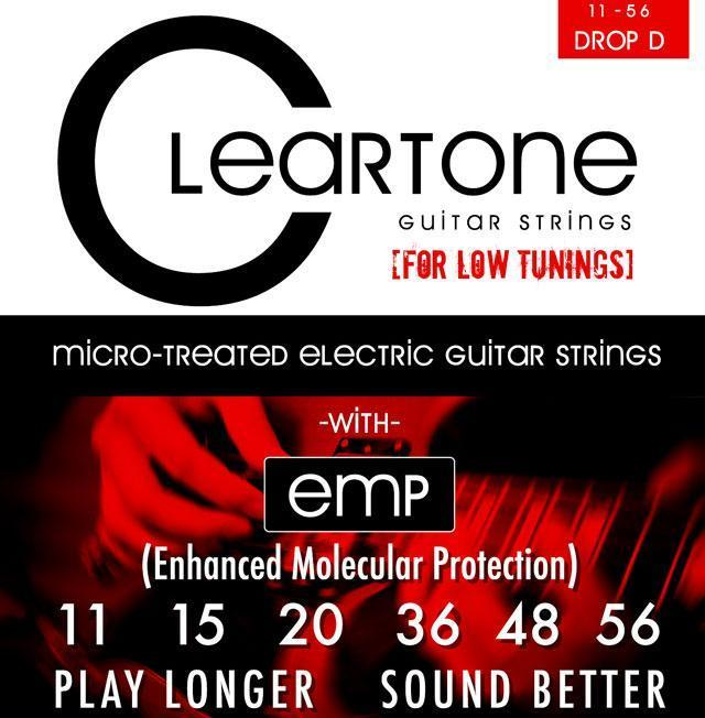 Cleartone 9456 Drop D 11-56 for Electric