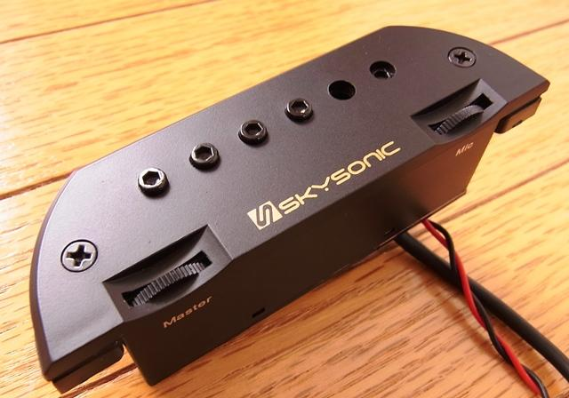 SKYSONIC NEW T-903 magnet pickup with microphone