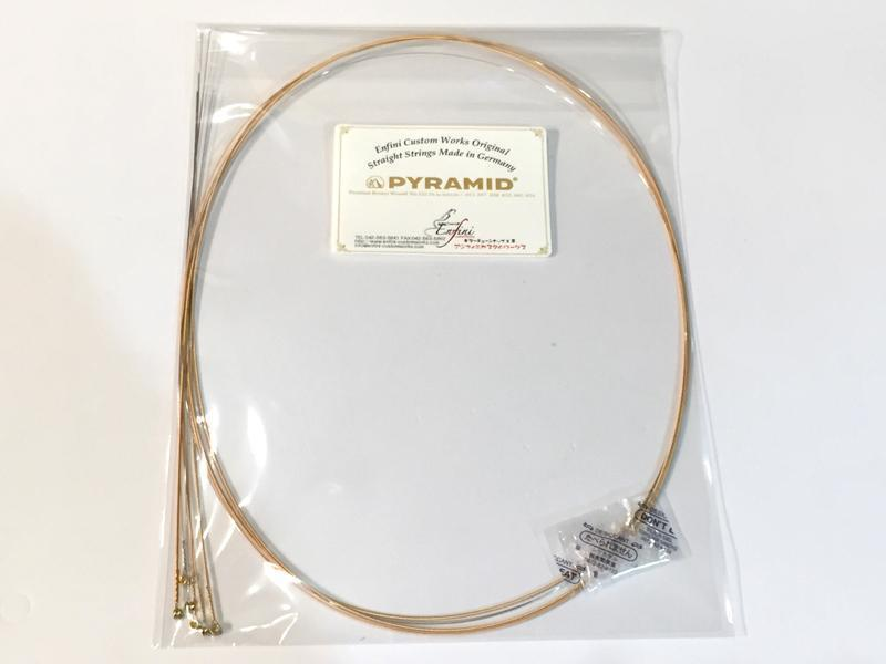 "PYRAMID straight string No.322 ""DADGAD 56"""