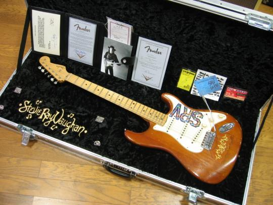 "Fender Custom Shop Tribute Series Limited Edition Stevie Ray Vaughan ""Lenny"" Stratocaster by Todd Krause"