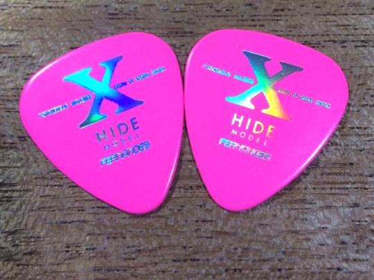 FERNANDES X HIDE PICK 2枚セット / PINK / X Japan前のX時代 / 新古品 デッドストック