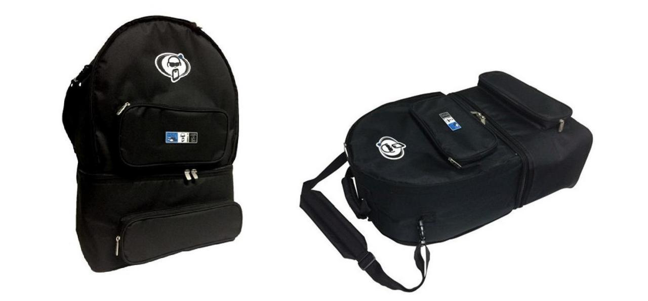Protection Racket snare & twin pedal bag TZ3016