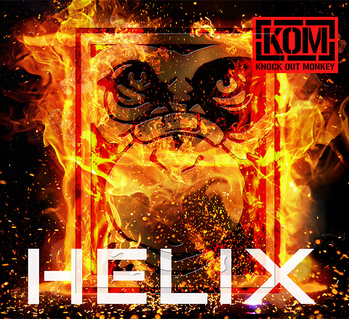KNOCK OUT MONKEY『HELIX』