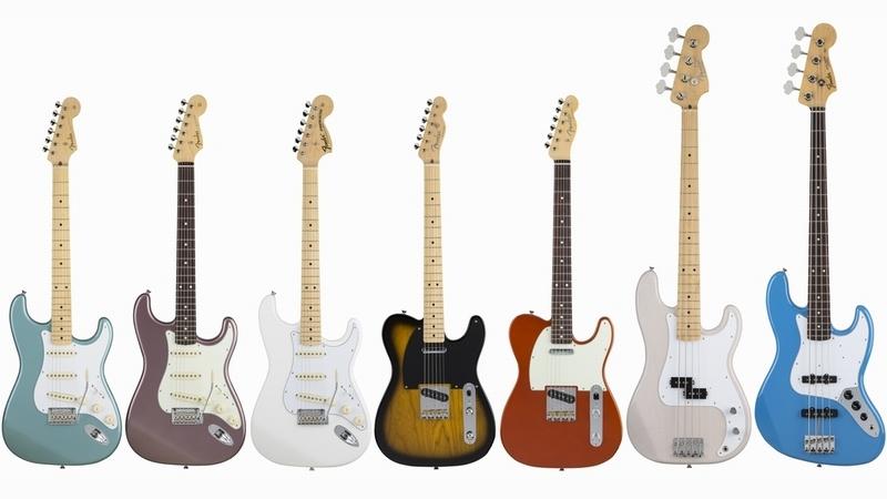Fender/Made in Japan Hybrid】伝統的ルックスと現代的スペック