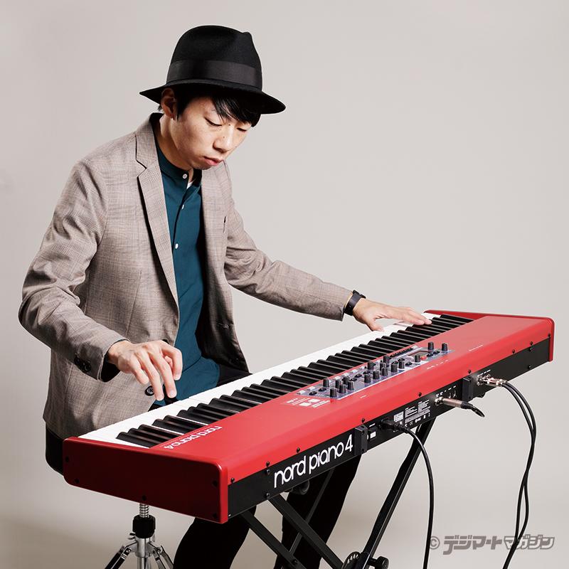 カメダタク(オワリカラ)meets NORD Nord Piano 4