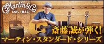 【特集】斎藤誠が弾く!マーティン・スタンダード・シリーズ