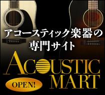 アコースティック楽器の専門サイト Acoustic Mart OPEN!