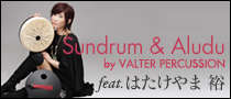 Sundrum & Aludu by VALTER PERCUSSION feat. はたけやま 裕