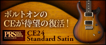 【製品レビュー】Paul Reed Smith / CE24 Standard Satin