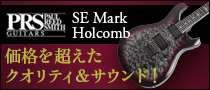 【製品レビュー】Paul Reed Smith / SE Mark Holcomb