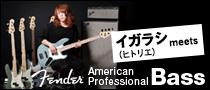 【特集】イガラシ(ヒトリエ) meets Fender American Professional BASS