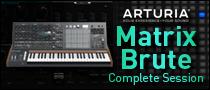 ARTURIA MatrixBrute Complete Session