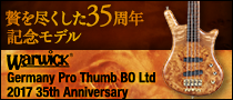 【製品レビュー】Warwick/Germany Pro Thumb BO Ltd 2017 35th Anniversary