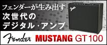 【製品レビュー】Fender MUSTANG GT 100