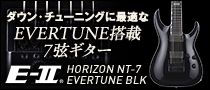【製品レビュー】E-Ⅱ / HORIZON NT-7 EVERTUNE BLK