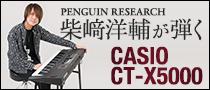 柴﨑洋輔(PENGUIN RESEARCH)が弾くCASIO CT-X5000