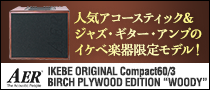 "【製品レビュー】IKEBE ORIGINAL Compact60/3 BIRCH PLYWOOD EDITION ""WOODY"""