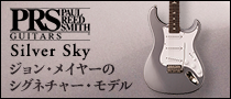 【製品レビュー】Paul Reed Smith / Silver Sky