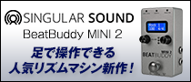 【製品レビュー】Singular Sound / BeatBuddy MINI 2