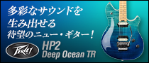 【製品レビュー】Peavey / HP2 Deep Ocean TR