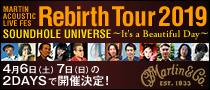【Martin Times】マーティン・ギターによるグッド・ミュージックをお届けするスペシャル・イベントが開催!