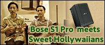 Bose S1 Pro meets Sweet Hollywaiians