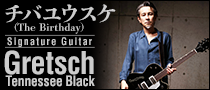 チバユウスケ(The Birthday)Signature Gretsch Tennessee Black